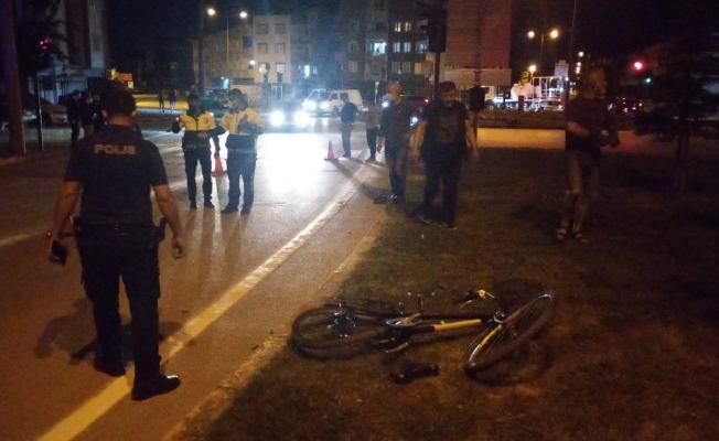 Polisten kaçan sürücünün çarptığı bisikletli 5 gün sonra öldü