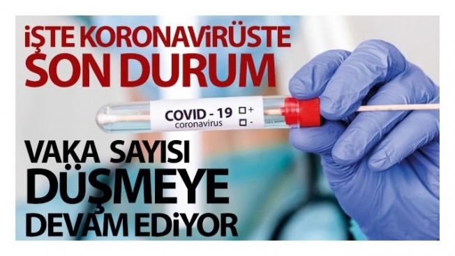 Türkiye'de son 24 saatte 6.493 koronavirüs vakası tespit edildi