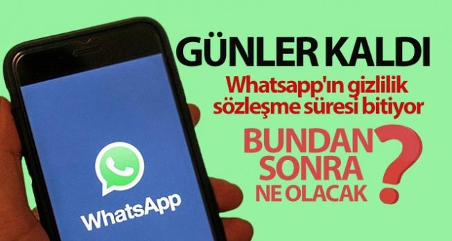 Whatsapp'ın gizlilik sözleşme süresi bitiyor, uzmanlar 'Anlaşılabilir bir açıklama yapılmalı' diyor