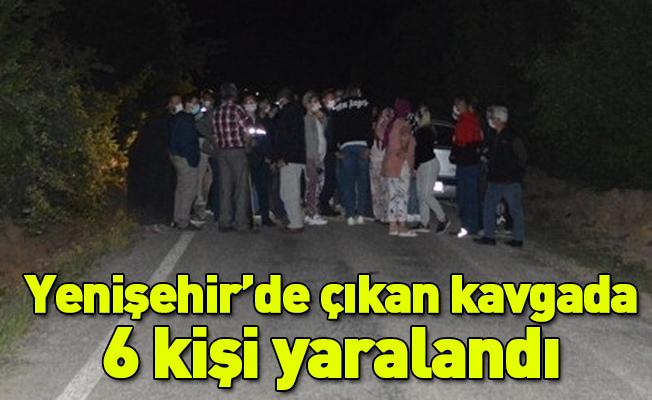Yenişehir'de çıkan kavgada 6 kişi yaralandı
