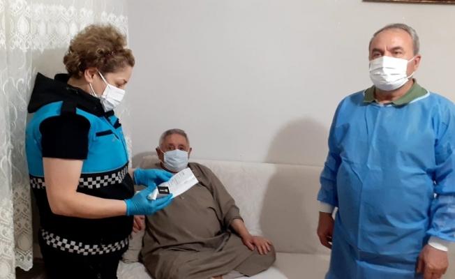 Yıldırım Belediyesi'nden evde enjeksiyon hizmeti