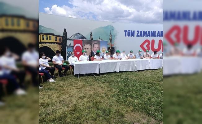 AK Parti Bursa'dan çevre duyarlılığı çağrısı