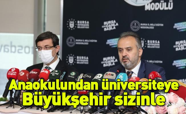 Anaokulundan üniversiteye Büyükşehir sizinle