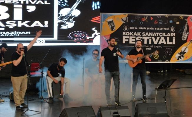 Bursa Sokak Sanatçıları Festivali, final konseriyle tamamlandı