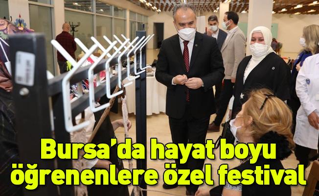 Bursa'da hayat boyu öğrenenlere özel festival