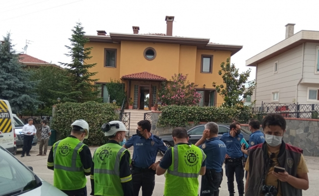 Bursa'da villada patlama; 1 yaralı
