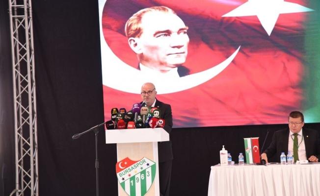 Bursaspor'un 29. başkanı Hayrettin Gülgüler oldu