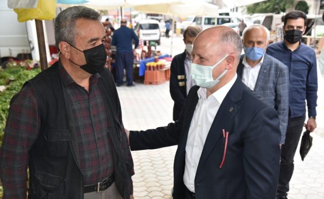 """Gürkan: """"Orhaneli'ni kalkındırmak için çalışıyoruz"""""""