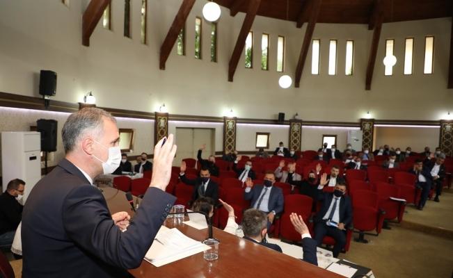 İnegöl'de haziran ayı meclis toplantısı yapıldı