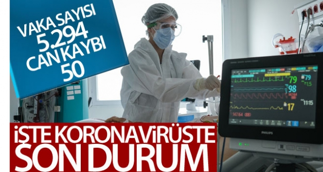 İşte koronavirüste son durum!