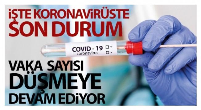 Koronavirüste son veriler paylaşıldı