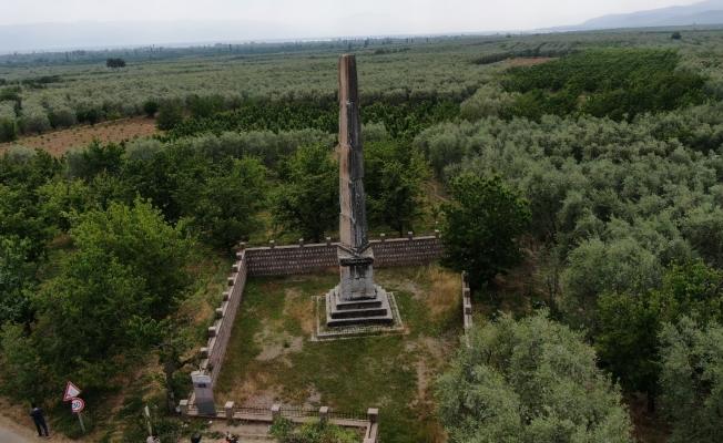 (Özel) Roma dönemine ait 12 metre yüksekliğinde anıt mezar 2 bin yıldır ayakta