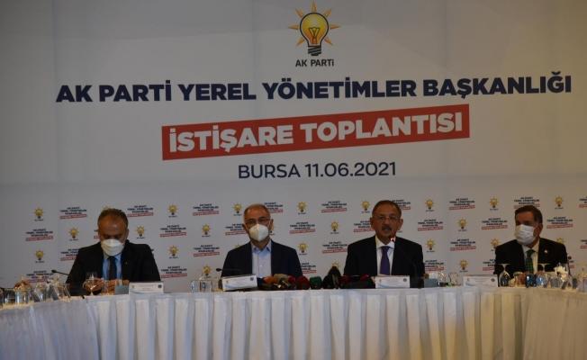 """Özhaseki: """"İstanbul ve Ankara belediyeleri algı ile yönetiliyor"""""""