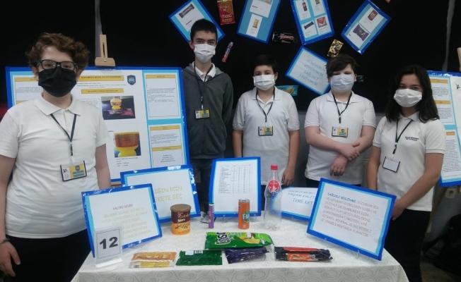 Salih Şeremet Ortaokulu öğrencilerinin TÜBİTAK sergisi büyüledi