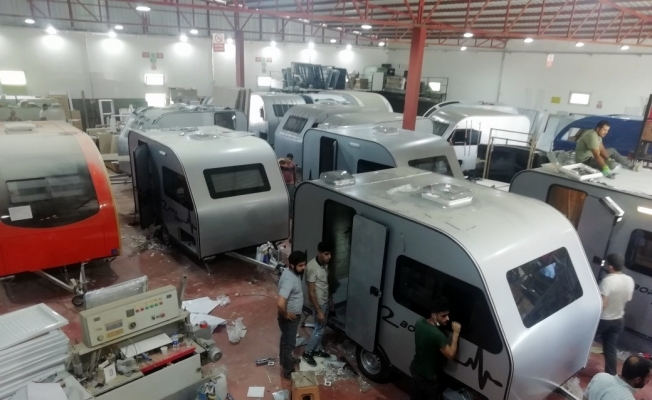 Türk karavanları Avrupa'nın göz bebeği oldu