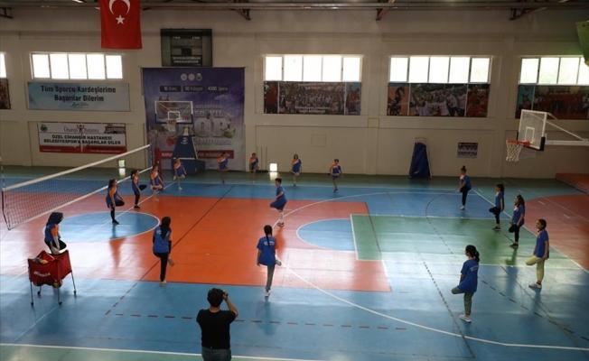 Yaz Spor Okulları 448 Öğrenciyle Eğitime Başladı