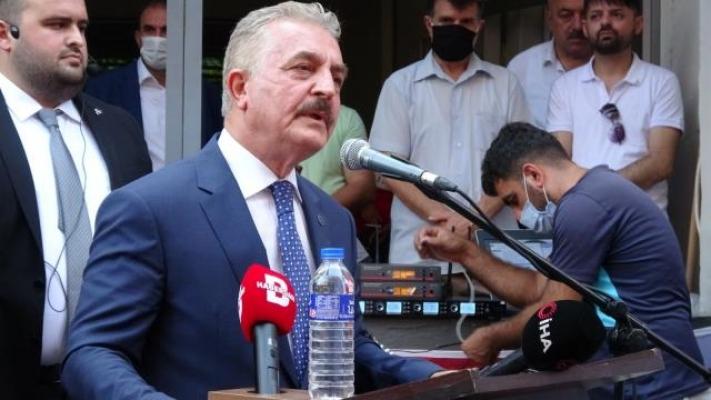 """MHP Genel Sekreteri Büyükataman: """"Türkiye'nin dört bir yanında çıkarılan yangınlar yüreğimizi kavuruyor"""""""