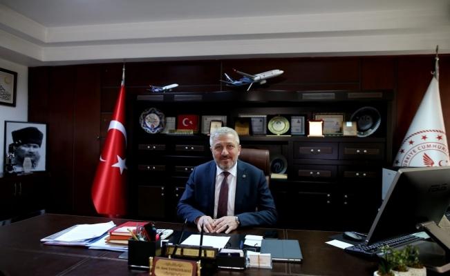 Bursa 'Mavi'ye boyandı Sağlık Müdürü teşekkür etti