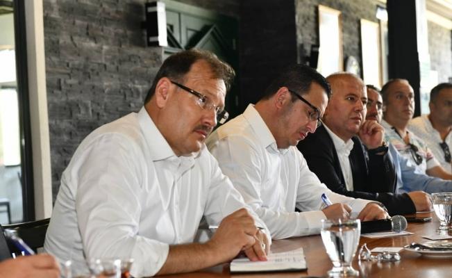 """Çavuşoğlu: """"Mustafakemalpaşa'ya yatırımlarımız sürecek"""""""