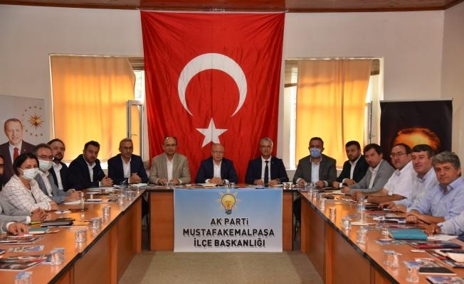 """Gürkan: """"Bursa'nın zenginliklerini geleceğe taşımak için çalışıyoruz"""""""