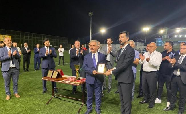 MHP 30 Ağustos Zafer Bayramı anısına futbol turnuvası düzenledi
