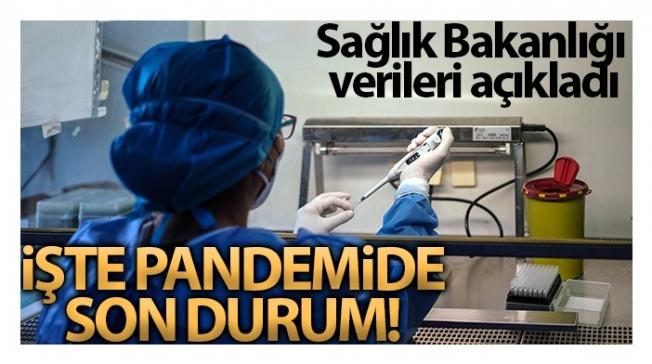 Son 24 saatte korona virüsten 165 kişi hayatını kaybetti