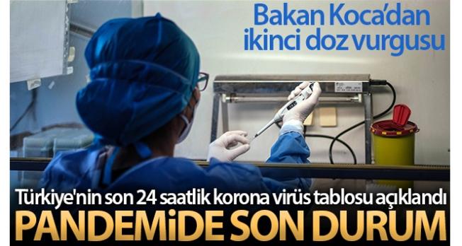 Son 24 saatte korona virüsten 257 kişi hayatını kaybetti