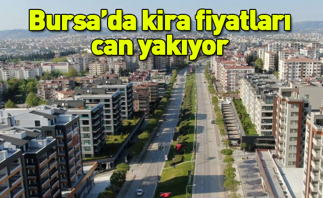 Bursa'da kira fiyatları can yakıyor