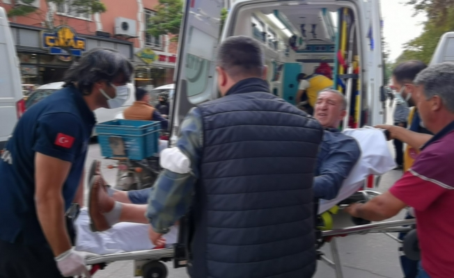 İnegöl'de silahlı kavga: Yoldan geçen iki kişi yaralandı