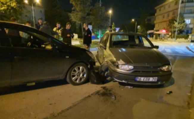 Kaza yapan sürücü 160 promil alkollü çıktı