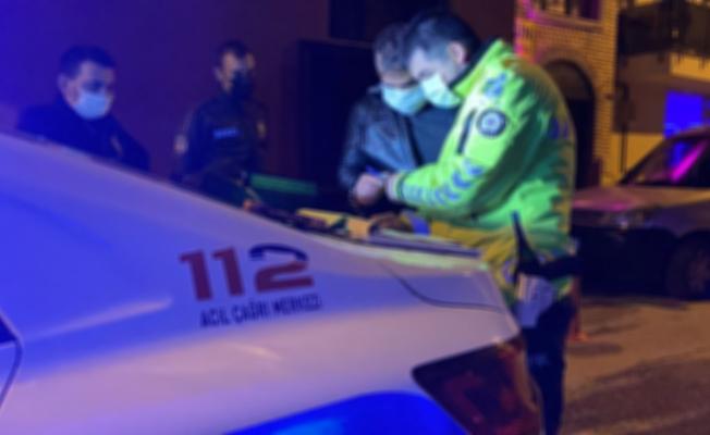 Emanet motosiklet ile uyuşturucu satarken yakalandı