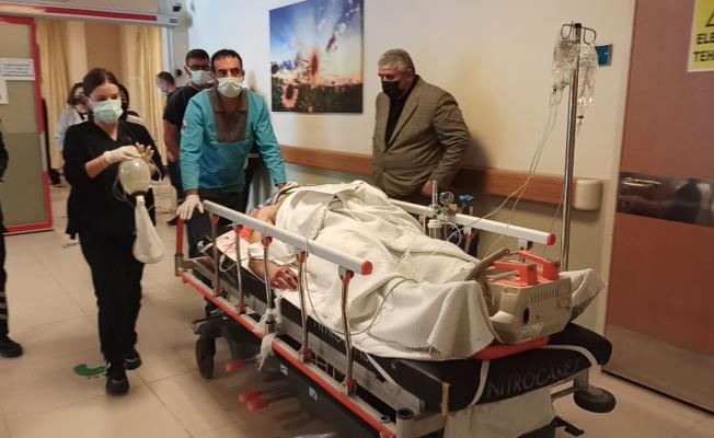 Feci kazada ağır yaralandı... Yaşam mücadelesi veriyor