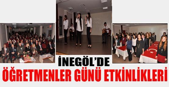 24 Kasım Öğretmenler Günü çoşkuyla kutlandı