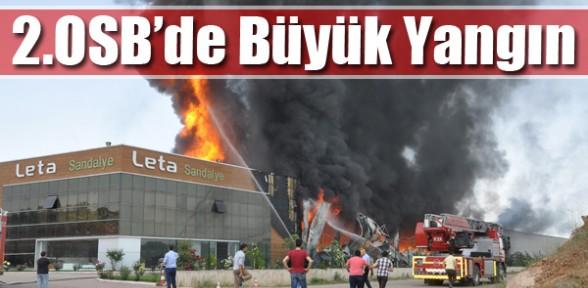 2.OSB'de Büyük Yangın