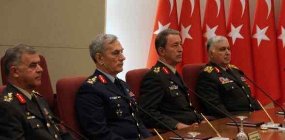 37 General Ve Amiral Bir üst Rütbeye Yükseltildi