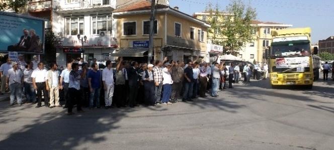 İhh Bursa Şubesi'nin Suriye'ye Yardımları Devam…