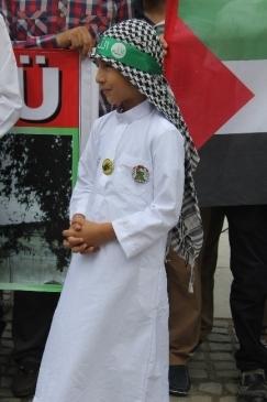 İsrail Dünya Kudüs Gününde Protesto Edildi