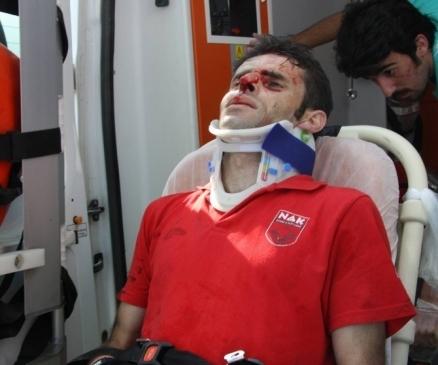 Bursa'daki Yangında Facianın Eşiğinden…