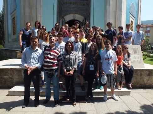 Amerikalı Öğrenciler Bursa'yı Tanıyor