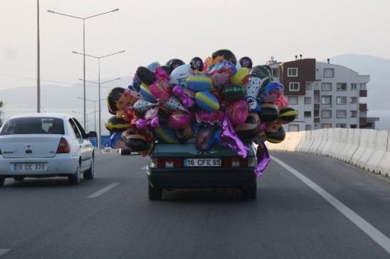 (özel haberi) Bursa'da Uçan Balonlu Yolculuk…
