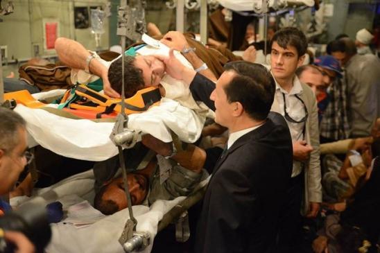 İnegöl'de Görevli Filistinli Doktordan Yaralı…
