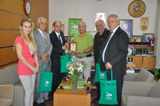 Emekli Astsubaylardan Kent Konseyi'ne Ziyaret