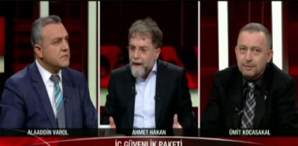 Ahmet Hakan o fotoğrafa isyan etti