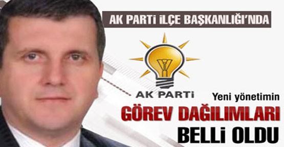 AK Parti İnegöl'de görev dağılımı yapıldı