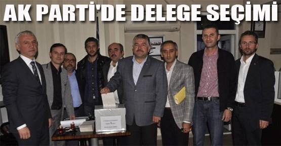 AK Parti'de delegeler seçildi