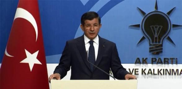 AK Parti'nin adayını Başbakan açıkladı