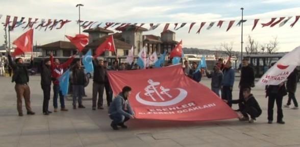 Alperen Ocakları'ndan Uygur Türkleri Eylemi