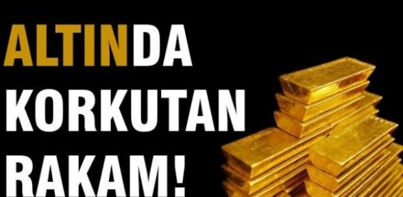 Altın fiyatları için korkutan rakam