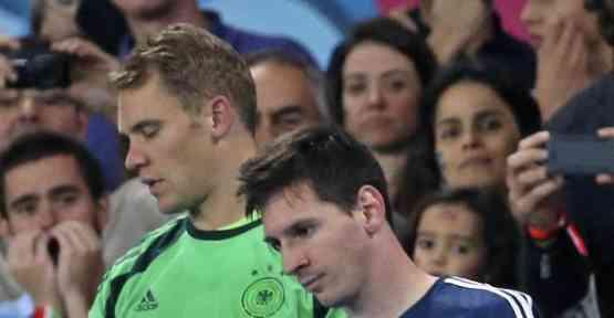 Altın Top Messi
