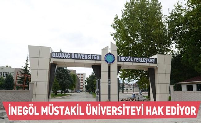 İnegöl Müstakil Üniversiteyi Hak Ediyor